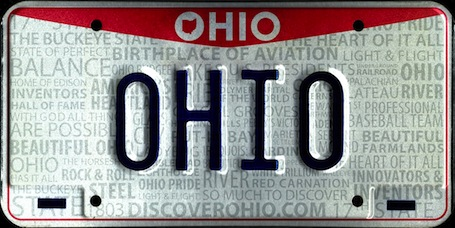 front license plate image
