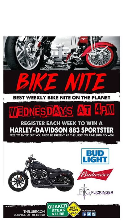 Bike night is TOMORROW at 6:00pm and the Flickinger legal group is a sponsor. Co… image