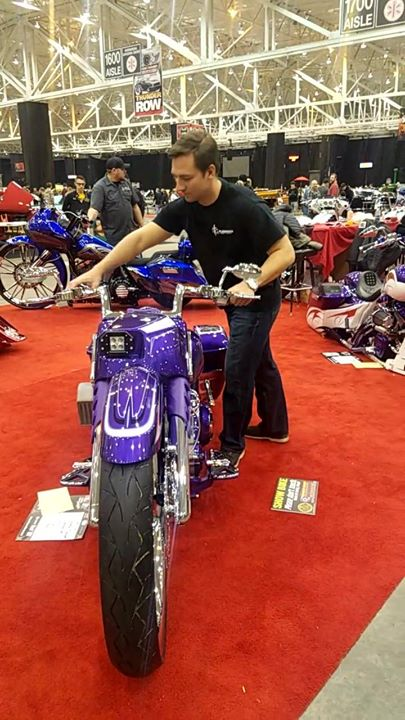 It's almost time to take the FLG bagger custom designed by Evil Iron Customs out… image