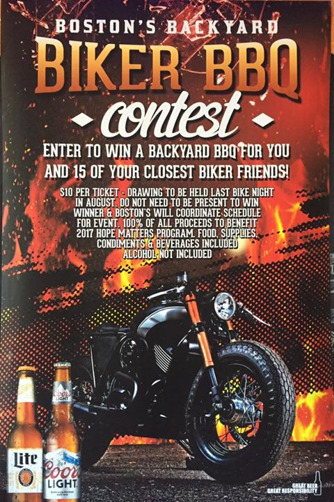 Come out to the next bike night to take advantage of this opportunity!! JUNE 6th… image