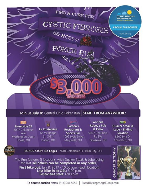 Cystic Fibrosis Foundation- motorcycle accident attorney image