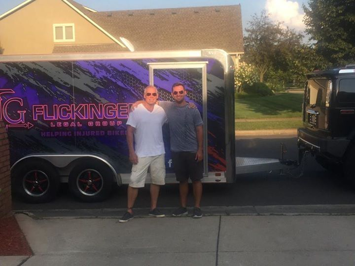 The Flickinger men are off to 77th Anniversary Sturgis Motorcycle Rally and Race… image