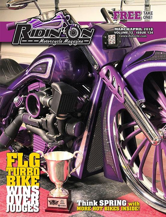 The Spring issue of Ridin' On Magazine has sprung, and is available to view onli… image