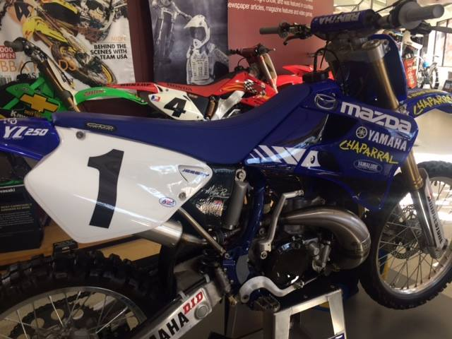 Motorcycle racing fans—you'll get a kick out of this. The King of Supercross, AM...