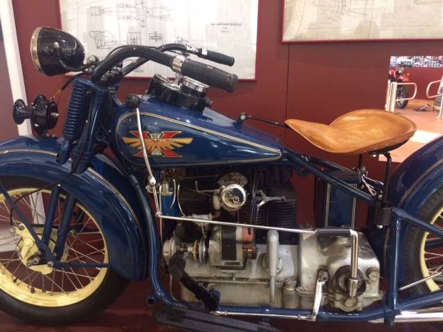 You're looking at the end of an era in the motorcycle world. This was one of the...