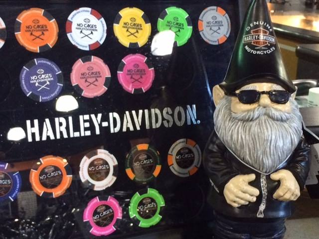 Happy Friday from the gnome at No Cages Harley-Davidson! Fun fact: According to ...