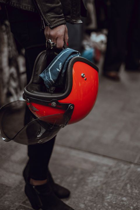 When you ride your motorcycle, remember to wear a helmet. It could save your lif… image