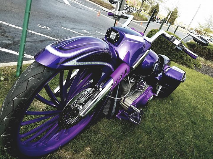 Tonight is the Evil Iron Customs bike show at Quaker Steak and Lube! Come on out… image