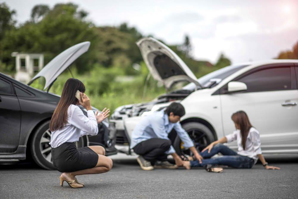 passenger involved in car accident